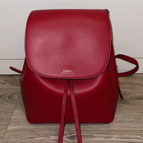 Ralph Lauren backpack - red
